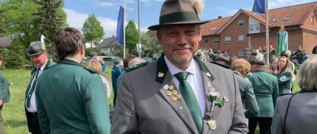 Dirk Schwerdtfeger ist Vorsitzender der Schützengesellschaft Sorgensen von 1971