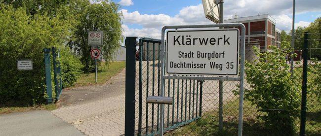 Die Kläranlage von Burgdorf