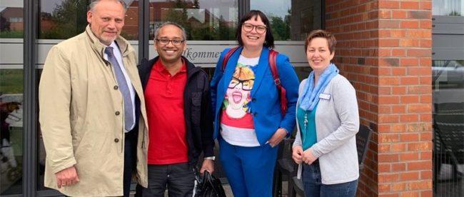 Besuch in der Seniorenresidenz Anna in Burgdorf - mit Sylvia Bruns, MdL und Sprecherin der FDP-Fraktion für Soziales.